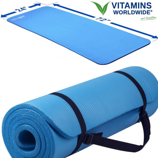 Extra Thick Foam Exercise Yoga Mat Gym
